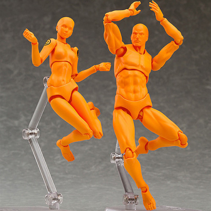 Doll Model-Toys Action-Figures Ferrite-Figma Collectible Anime Archetype Movable-Body
