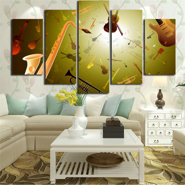 HD Printed Canvas Pictures for Living Room Wall Art Painting 5 ...