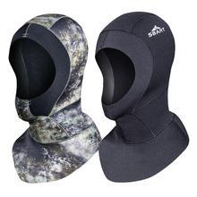 Sbart защита от медузы, капюшон для дайвинга, утолщенная шапочка для плавания, Солнцезащитная маска для лица с капюшоном, маска для дайвинга, сёрфинга