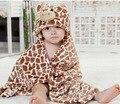 Cervos dos desenhos animados crianças criança infantil recém-nascido toalha alimentação toalha de banho flanela limpar panos de banho toalha de mão