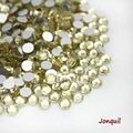 Super Shiny SS3-SS34 jonquil  Glitter Non Hotfix Opal Color 3D Nail Art Decorations Flatback Rhinestones Strass Stones