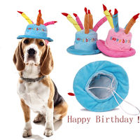 Birthday Funny Pet Dog Hat Small Large Animals Breeds Chihuahua Toy Terrier Yorkshire Party Cat Cute