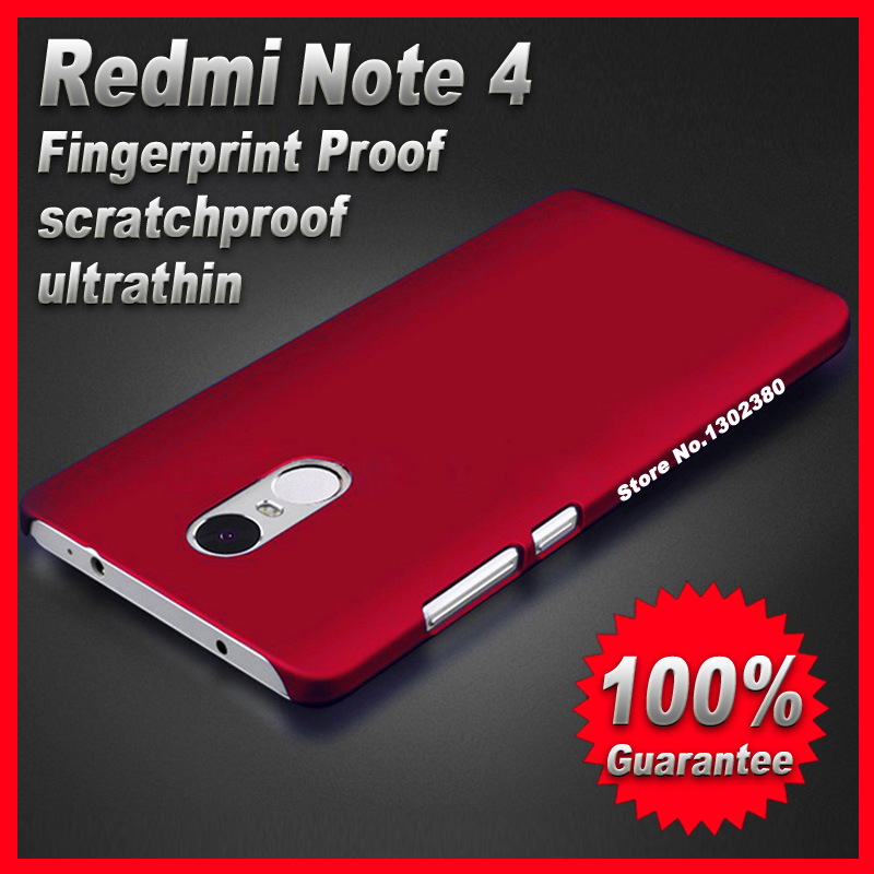 Xiaomi redmi note 4 prime case cover plastic 5 5 inch case for Housse xiaomi redmi note 4