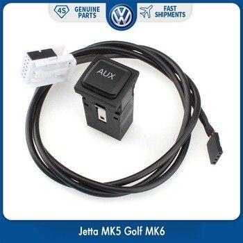 Envío Gratis OEM 2 en 1 USB AUX interruptor para RCD510 RNS510 RNS315  RCD500 RNS300 RCD300 RCD200