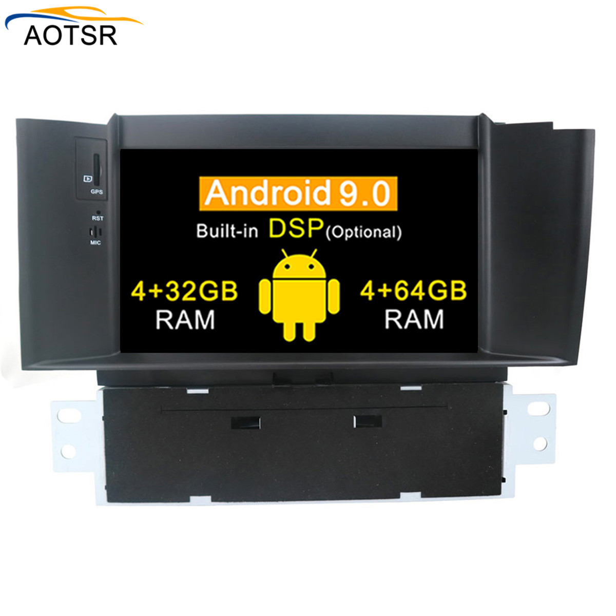 7 IPS Android 9 0 Car GPS Stereo For Citroen C4 C4L DS4 2011 2012 2013