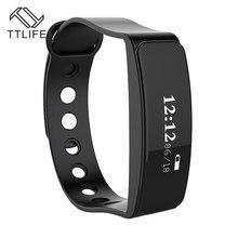 TTLIFE Bluetooth V5 Спорта Сна Трекер Водонепроницаемый удаленного браслет Smart запястье браслет шагомер для iPhone 7 6 android