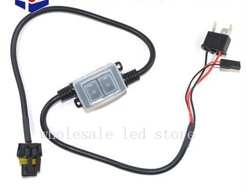 Free Shipping 4pcs/lot Easy Relay Harness For H4 9003 High/low Beam Bi-Xenon HID Headlight Lamps Bulbs Wiring Controllers for opel cih customized 128mm connecting rods h beam forged billet 4340 conrods free shipping high performance fitting arp 3 8
