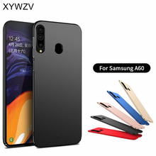 For Samsung Galaxy A60 Case Silm Luxury Ultra-Thin Smooth Hard PC Phone Cover Fundas