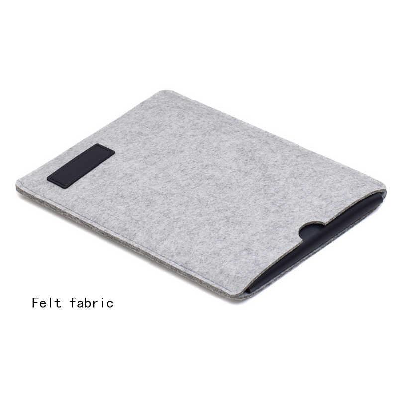 2019 Fashion Merasa Laptop Lengan Tas untuk MACBOOK AIR 13 Tas Pro 13 12 11 Baru 15 Touch Bar Cover untuk Xiao Mi Mi Notebook 15.6 Case