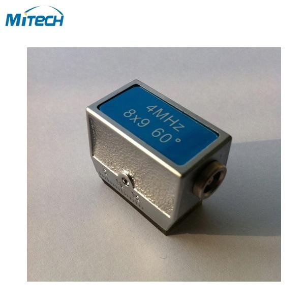 Graus de Ângulo de Feixe Probe Transdutor 4 Mhz 8*9 60