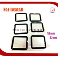 5pcs/lot For apple watch 38mm 42mm Best Quality Front Screen Lens Outer Glass For iwatch Glass Replacement Part Black