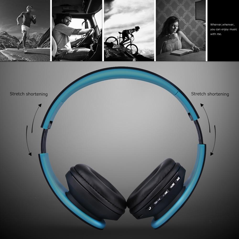 Lobkin Bluetooth Headphone Over ear Stereo Wireless Headphone Noise Cancelling Headphone for Smartphone in Bluetooth Earphones Headphones from Consumer Electronics