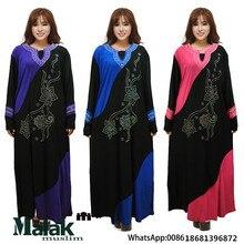 Muslim women high quality abaya islamic femal fashion dress Middle East Arab women abaya dubai women caftan summer clothing