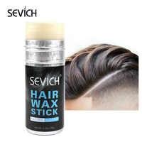 Sevich 75g Natural and refreshing Hair Wax Stick Long Lasting Hair Styling Wax Fashion Hair Clay High Strong Hold Hair Cream