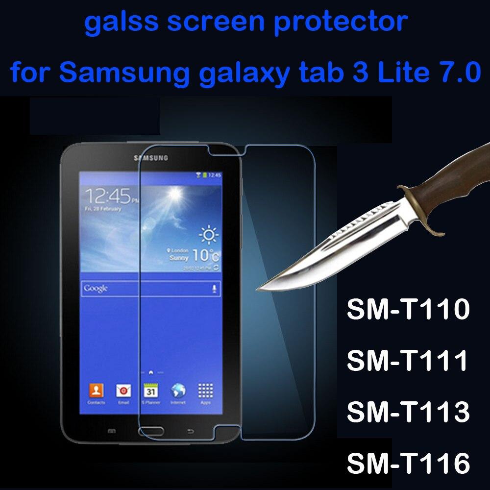 Защитное стекло, закаленное стекло для Samsung Galaxy Tab 3 Lite 7,0
