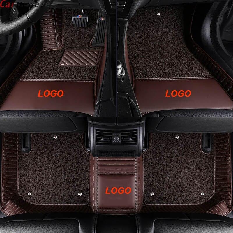 car floor mats For toyota prado 120 150 land cruiser 100 mark x corolla harrier rav4 camry Highlander accessories carpet rug(China)
