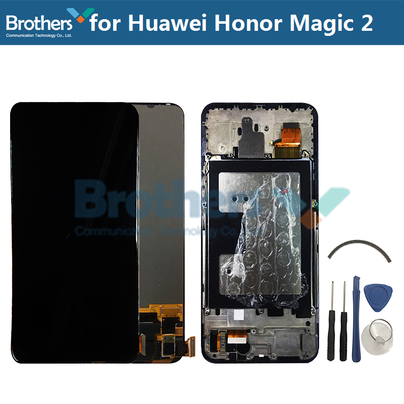 LCD Screen for Huawei Honor Magic 2 LCD Display for Huawei Honor Magic 2 LCD Assembly Touch Screen Digitizer Phone ReplacementLCD Screen for Huawei Honor Magic 2 LCD Display for Huawei Honor Magic 2 LCD Assembly Touch Screen Digitizer Phone Replacement