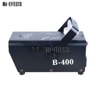 LED smoke machine 400w mini fog machine with RGB led lights stage professional light DJ Disco KTV Party Wedding smoke ejector