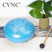 CVNC 6 8 notes  C D E F G A B steel tongue drum
