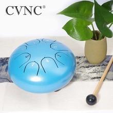 CVNC 6 8 notes  C D E F G A B C  steel tongue drum g frescobaldi canzon vigesimanona a 8