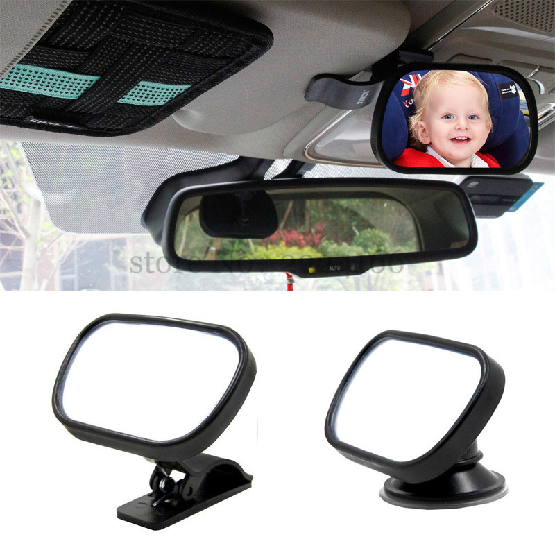 SITAILE Universal Car Interior Mirrors baby monitor Car Rear Seat View Mirror Baby Child Safety With Clip Sucker free Shipping