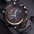 Мужские многофункциональные часы YAZOLE  спортивные  кварцевые  цифровые  военные  2019