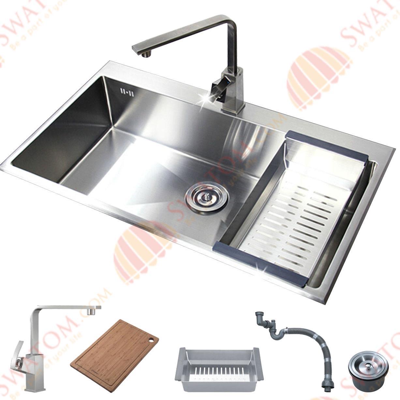30 Inch Drop In Kitchen Sink 30 single bowl top mount kitchen sink - kitchen design