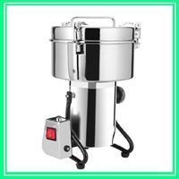 220V Medicine Spice Herb Salt Rice Coffee Bean Cocoa Corn Pepper Soybean Leaf Mill 4500G 3500G