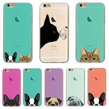 Soft TPU Cover For Apple iPhone 7 7Plus Case Cases Phone Shell Super Cute Design Ultra