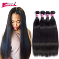4 Bundles Brazilian Straight Hair 8A Mink Brazilian Virgin Hair Straight 4PCS Rosa Hair Products Brazilian Hair Weave Bundles