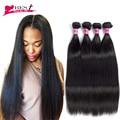 4 Bundles Brazilian Straight Hair 8A Mink Brazilian Virgin Hair Straight 4PCS Rosa Hair Products Brazilian Hair Weave Bundles