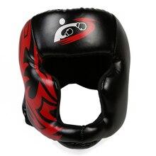 167ab424a1d2e Novo Estilo Das Mulheres Dos Homens Luta Guarda Cabeça proteção para a  Cabeça de Sparring Training Sanda Muay Thai Boxeo Taekwon.
