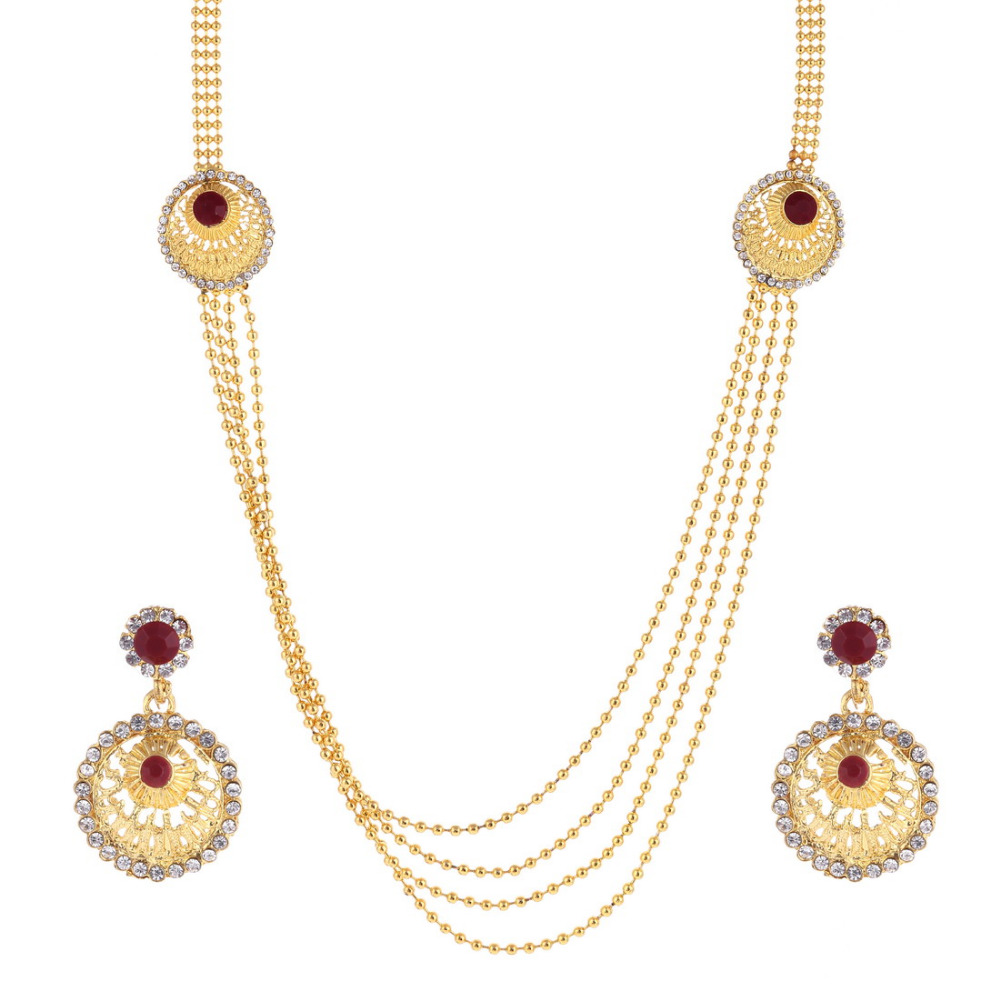 Hesiod Jewelry Sets Crystal...