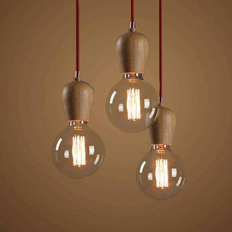Iluminación colgante para la cocina moderna de la vendimia retro ...
