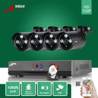 4CH 1080N AHD DVR 1800TVL Outdoor CCTV Home Security Camera System 500GB HD
