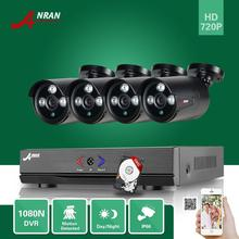 ANRAN 4CH 1080N 720P AHD DVR 1800TVL 4pcs Array IR Day Night Outdoor Waterproof CCTV Home Security Camera System With 500GB HDD