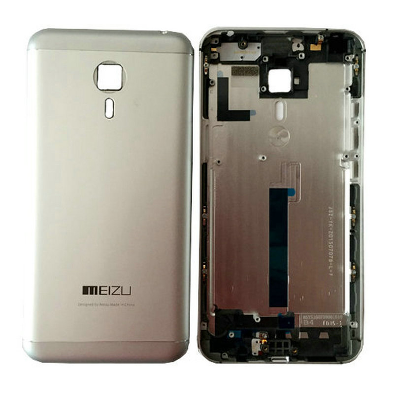 Retour Couverture De Porte De Batterie Arrière Logement Couverture De Cas Pour Meizu Mx5 MT6795 Helio X10 Turbo 2.2 GHz Octa Core Cellulaire téléphone
