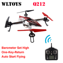 WLtoys Q212 One Key return Take Off Barometer Set High RC Quadcopter Support FPV WiFi HD