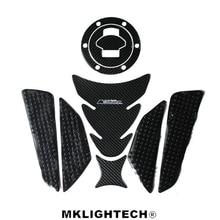 Free shipping k-sharp Carbon 3D ADESIVI MOTO Sticker Decal Emblem Protection Tank Pad Gas Cap Fit BMW R1150R/RT/GS/AD 9 choose