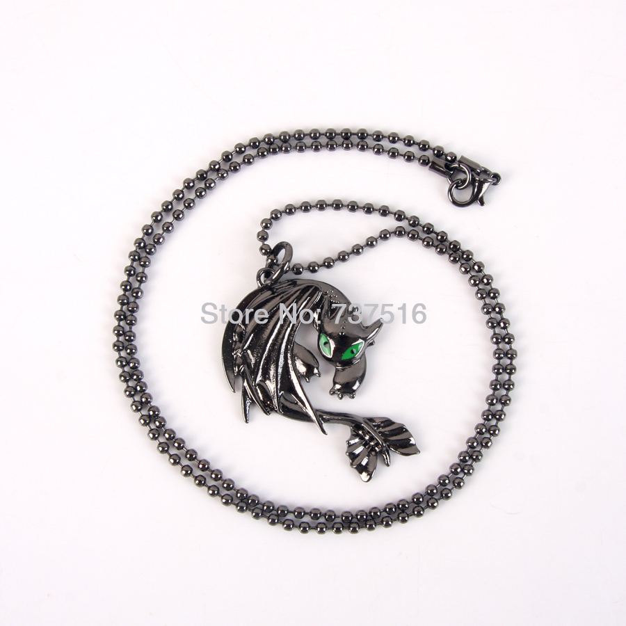How To Train Your Dragon 2 Toothless Night Fury Metal Animal Movies Product New