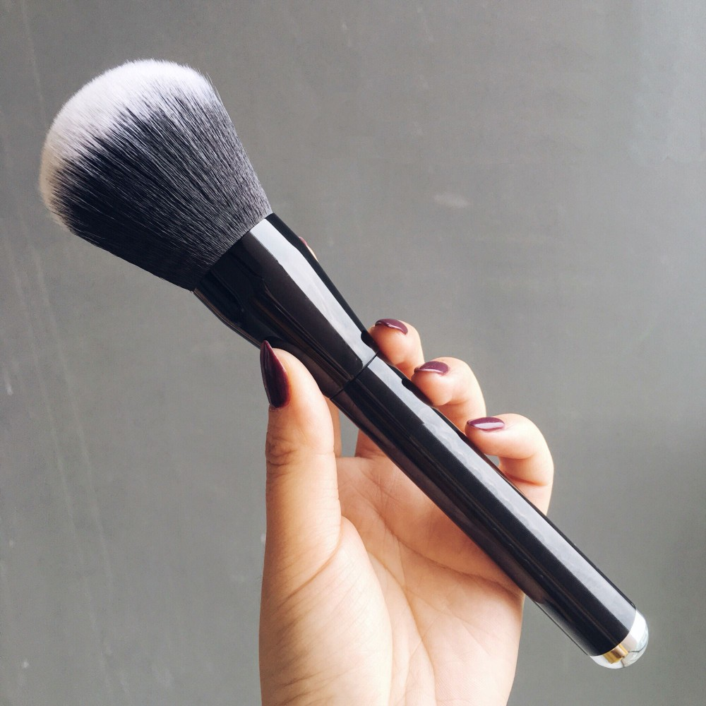 RANCAI 1pcs Large Powder Brush Gold Blush Cosmetics Makeup Brushes Foundation Cosmetic Beauty Tools Pinceis De Maquiagem