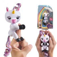 Presale Fingerlings Unicorn Smart Interactive Toys Electronic Baby Monkey Induction Toy Gift For Kids Fingerling
