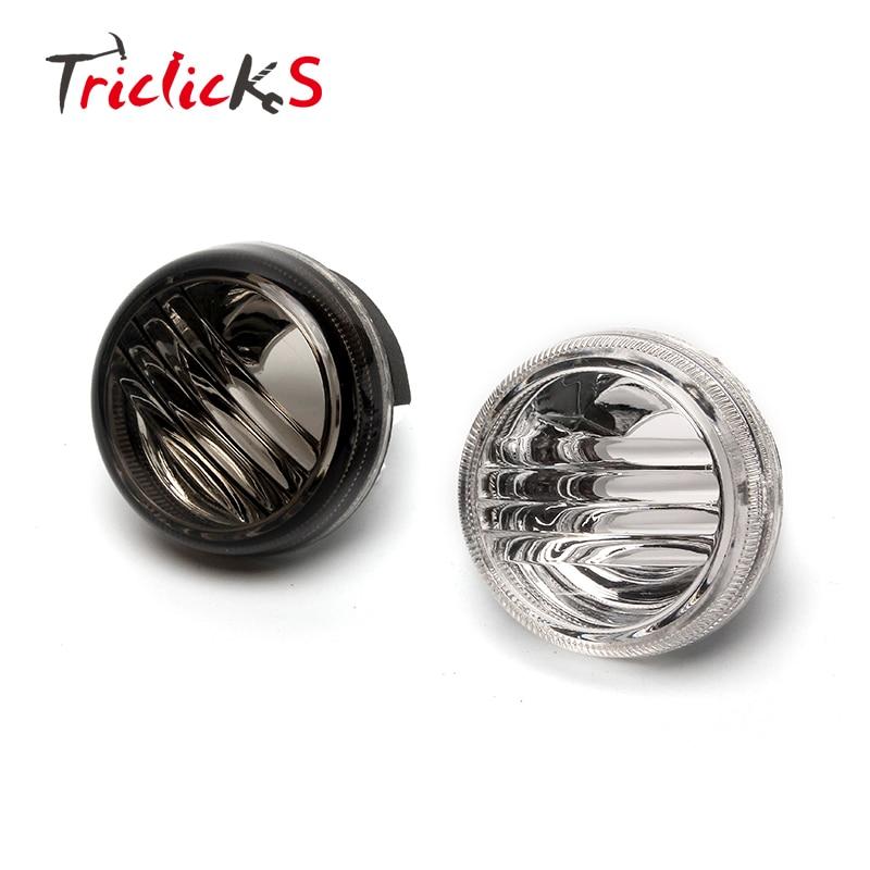Triclicks Fumée Clear Led Lens Cover Motos Clignotants Lense Pour Suzuki Boulevard M50 C50 VL800 C90 1500 M109R C109R