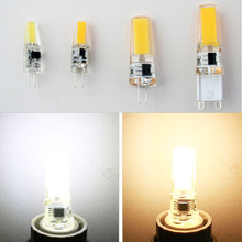 1pcs Mini G4 LED COB Lamp 2W 5W Bulb AC DC 12V 220V Candle Silicone Lights Replace 20W 30W 40W Halogen for Chandelier Spotlight 4 10pcs g4 1 5w 2w cob led capsule led bulb replace halogen light lamp halogen replacement bulbs dimmable ac dc 12v