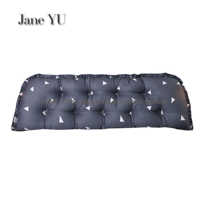 JaneYU joli coussin de chevet, Tatami sac souple pour dortoir européen pour deux personnes avec grand dossier sur le lit d'oreiller