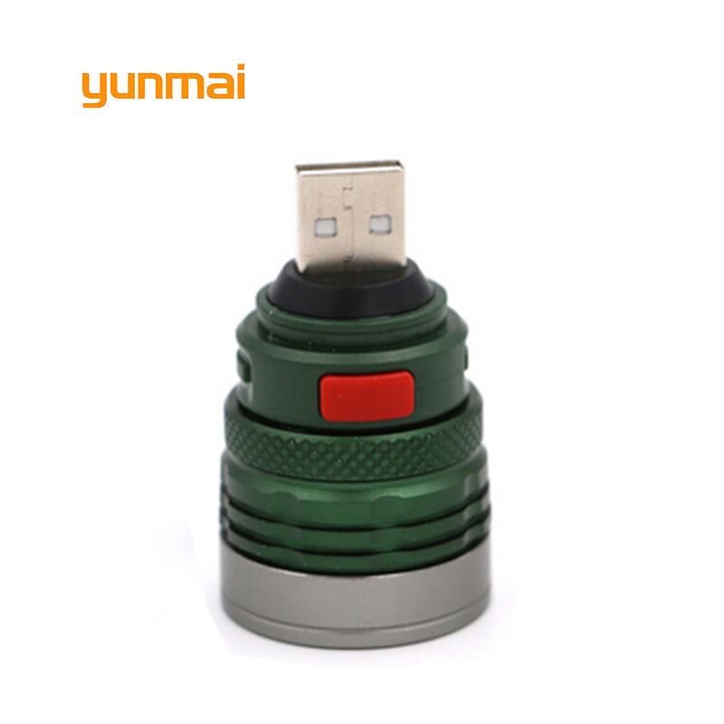 yunmai USB Reading Work LED Light Flashlight NEW Q5 XPE 2000lm Powerful Mini Portable Torch Computer Lamp цены