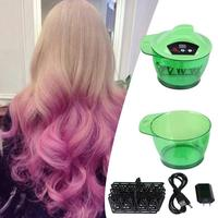 320mL Electric Hair Coloring Bowl Automatic Hairs Dyeing Cream Mixer US