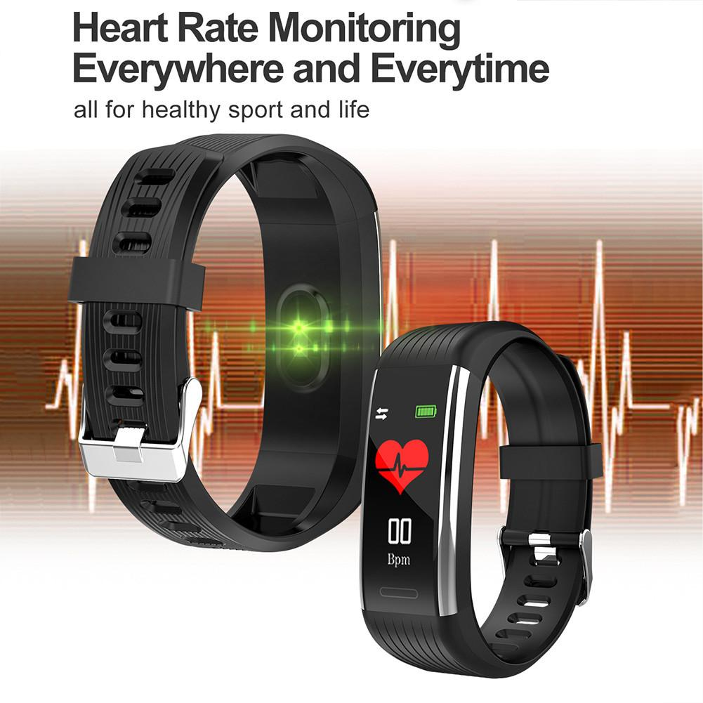 Image 4 - New R1 Smart Watch Men Women Heart Rate Monitor Pressure Fitness Tracker Smartwatch Sport Wristband For Ios Android PK Mi Band 4-in Smart Wristbands from Consumer Electronics