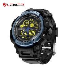 Дешевые LEMFO LF21 Смарт часы Шагомер Смарт-часы вызов и Сообщение Напомнить Смарт-часы Водонепроницаемый удаленного Камера для IOS Android телефон