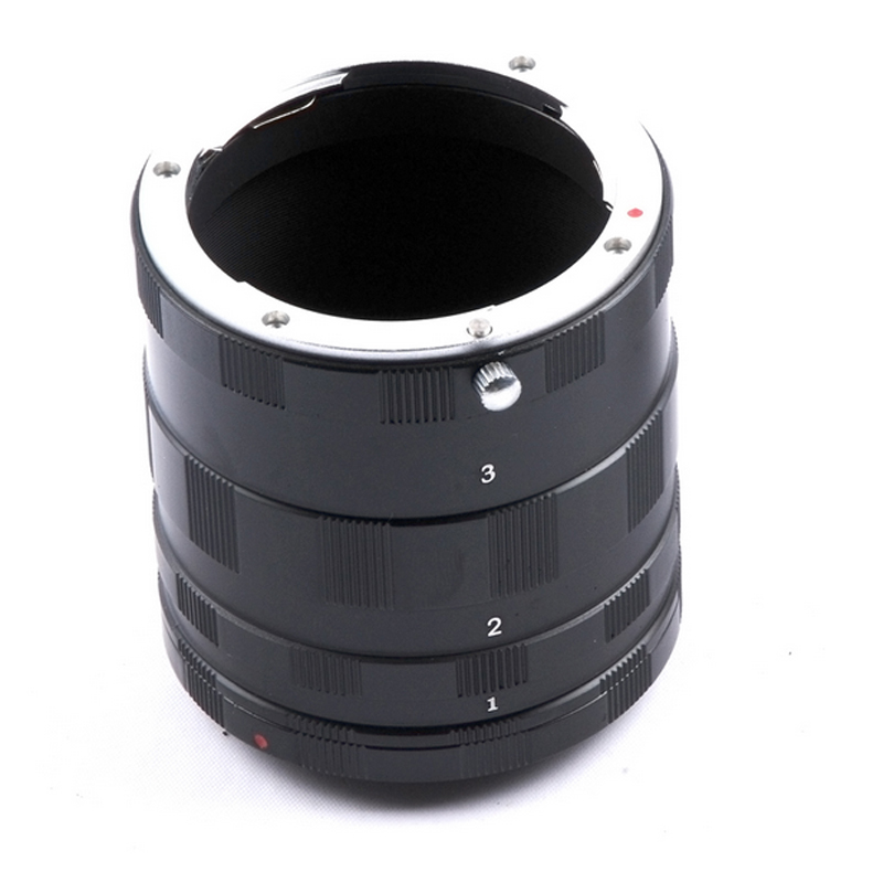 Macro <font><b>Lens</b></font> Extension Tube Adapter Ring For <font><b>Sony</b></font> Alpha Minolta AF mount A77 A99 A37 A580 A380 A330 <font><b>A350</b></font> A77 A77 II A65 image